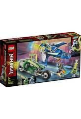 Lego Ninjago Véhicules Suprêmes de Jay et Lloyd 71709