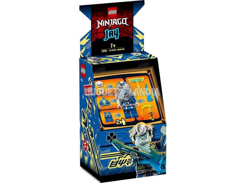 Lego Ninjago Cabina de Juego Avatar de Jay 71715