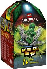 Lego Ninjago Spinjitzu Explosif Lloyd 70687