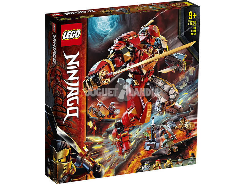 Lego Ninjago Robot Rocollameante 71720
