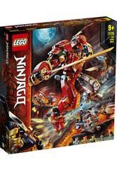 Lego Ninjago Le Robot de Feu et de Pierre 71720