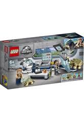 Lego Jurassic World Laboratorio del Dr. Wu Fuga de las Crías de Dinosaurio 75939
