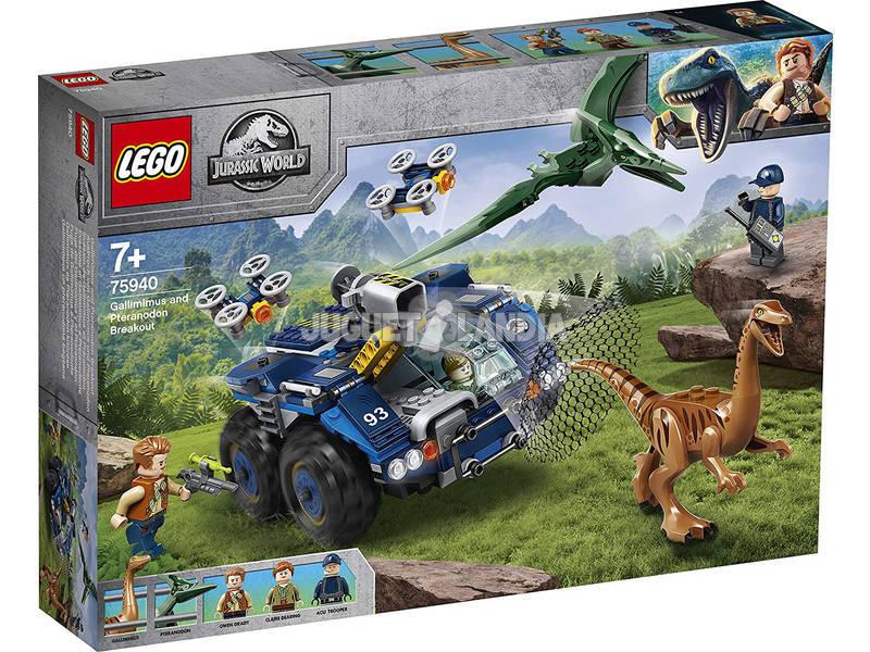 Lego Jurassic World Fuga del Gallimimus y el Pteranodon 75940