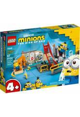 Lego Minions en el Laboratorio de Gru 75546