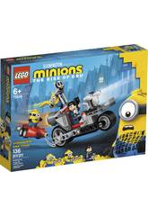 Lego Minions Unstoppable Motorcycle Chase 75549