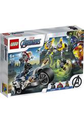 Lego Super Helden Avengers Motorradangriff 76142