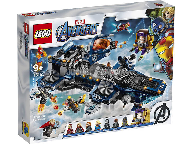 Lego Marvel Avengers Hélytransport des Vengueurs 76153