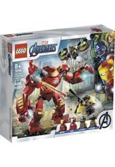 Lego Súper Heróis Hulkbuster de Iron Man vs Agente de A.I.M. 76164