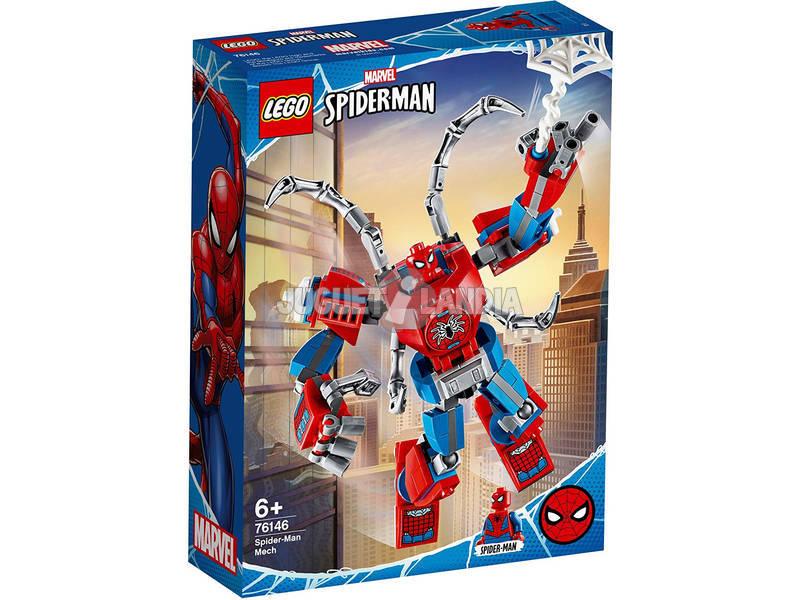 Lego Marvel Spiderman Armadura Robótica de Spiderman 76146