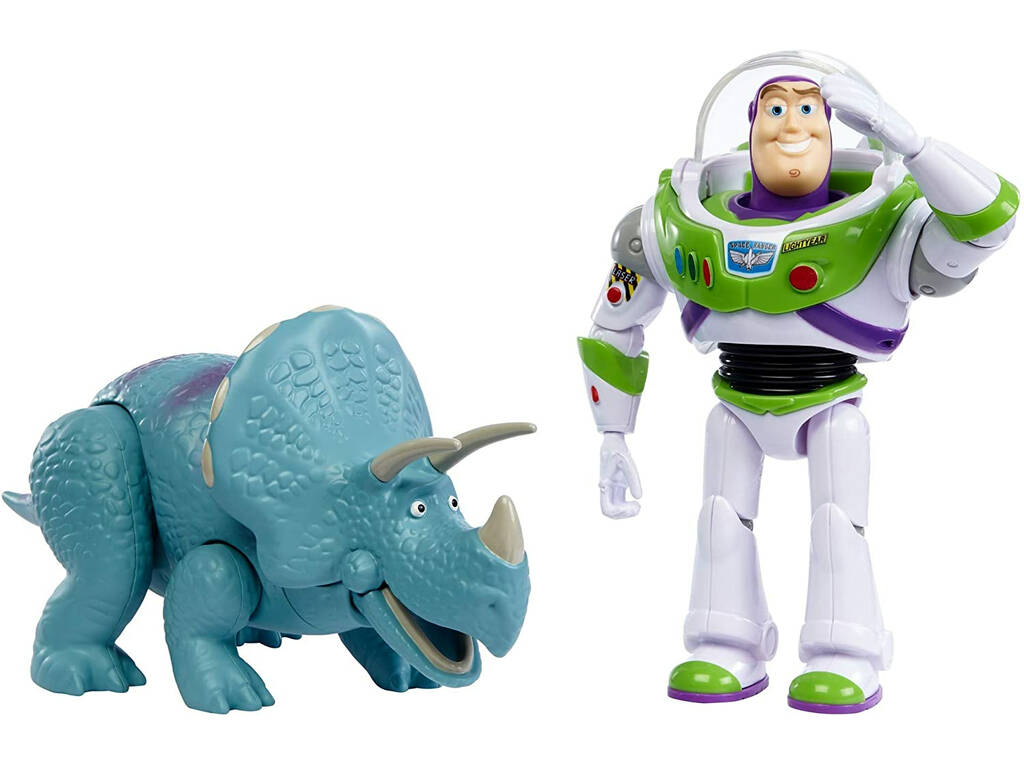 Toy Story Pack Aventuras Figuras Buzz y Trixie Mattel GJH80
