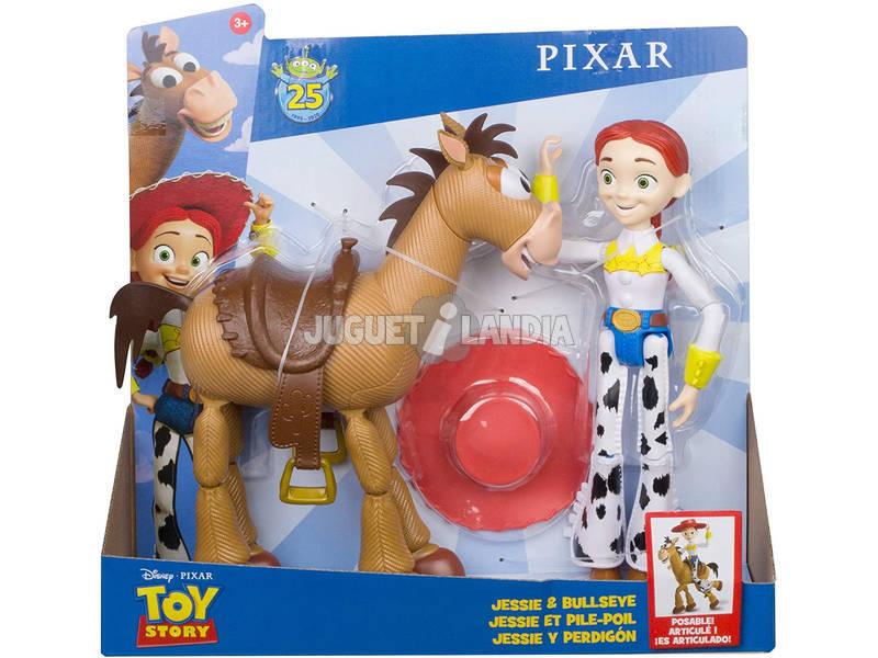 Toy Story Pack Aventuras Figuras Jessie y Perdigón Mattel GJH82