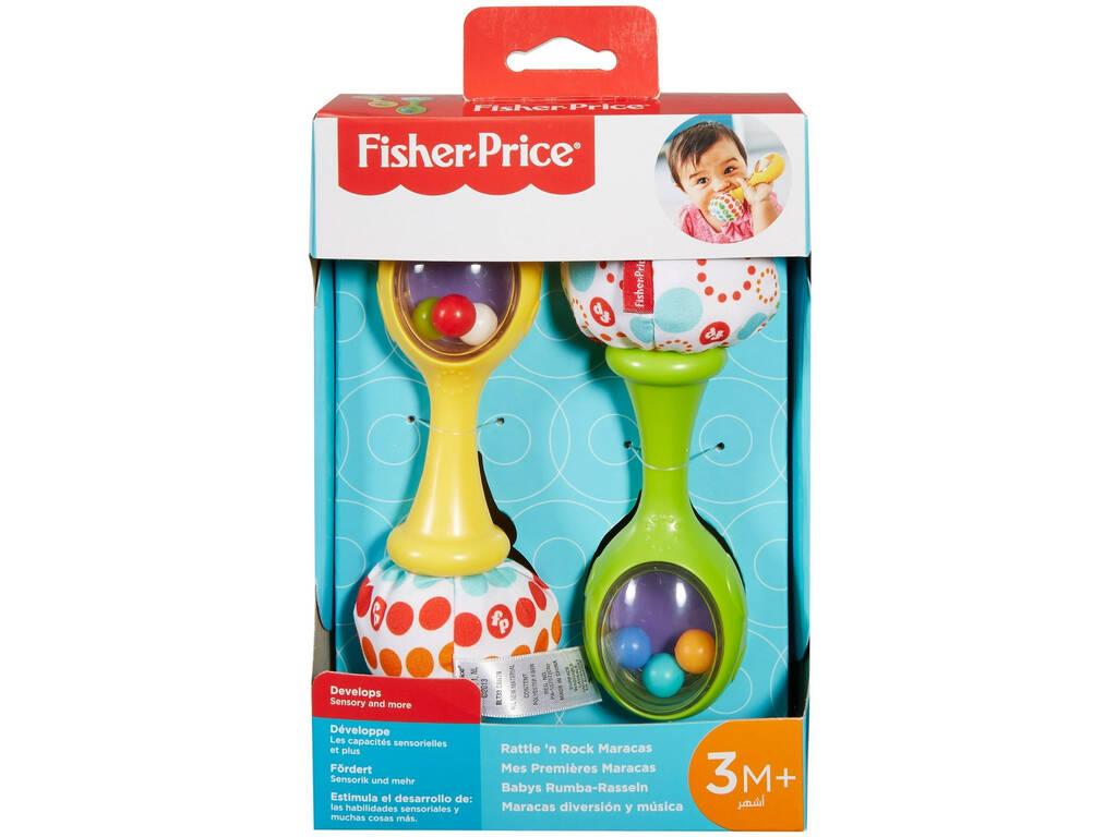 Fisher Price Maracas Diversión y Música Mattel BLT33