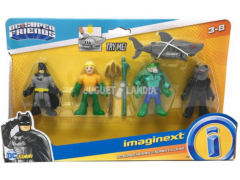 Imaginext Pack Superhéroes y Villanos Mattel FWJ94
