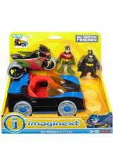 Imaginext Batmobile et Moto DC Superfriends Mattel CGL38