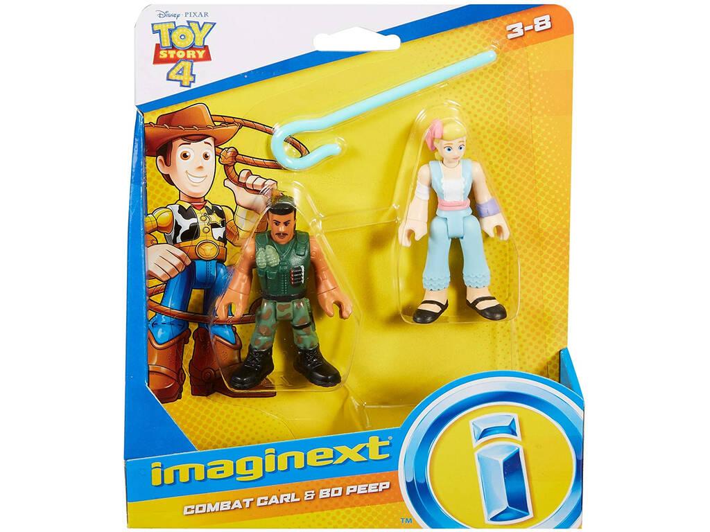 Imaginext Toy Story Figuras Soldado Carl y Bo Beep Mattel GFD13
