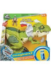 Imaginext Jurassic World Tirannosauro Megamascella Mattel GBN14