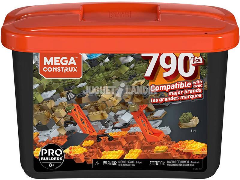 Mega Construx Builders Cubo Negro 790 Piezas Mattel GJD26