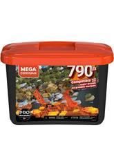 Mega Construx Builders Schwarz-Würfel 790 Stücke von Mattel GJD26