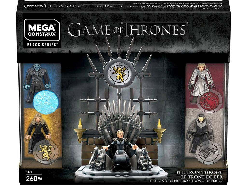 Juego de Tronos Mega Construx El Trono de Hierro Mattel GKM68