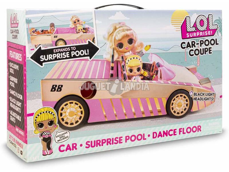 Lol Surprise Serie 7 Car Pool Coupé Con Muñeca Exclusiva Giochi LLUB7000