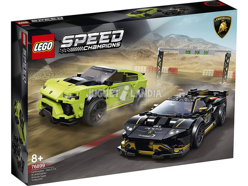 Lego Speed Champions Lamborghini Urus ST-X y Lamborghini Huracan 76899