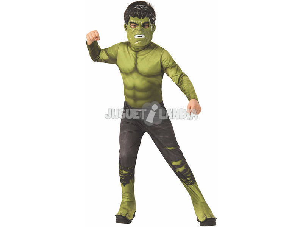 Disfraz Niño Hulk Endgame Classic Talla M Rubies 700648-M