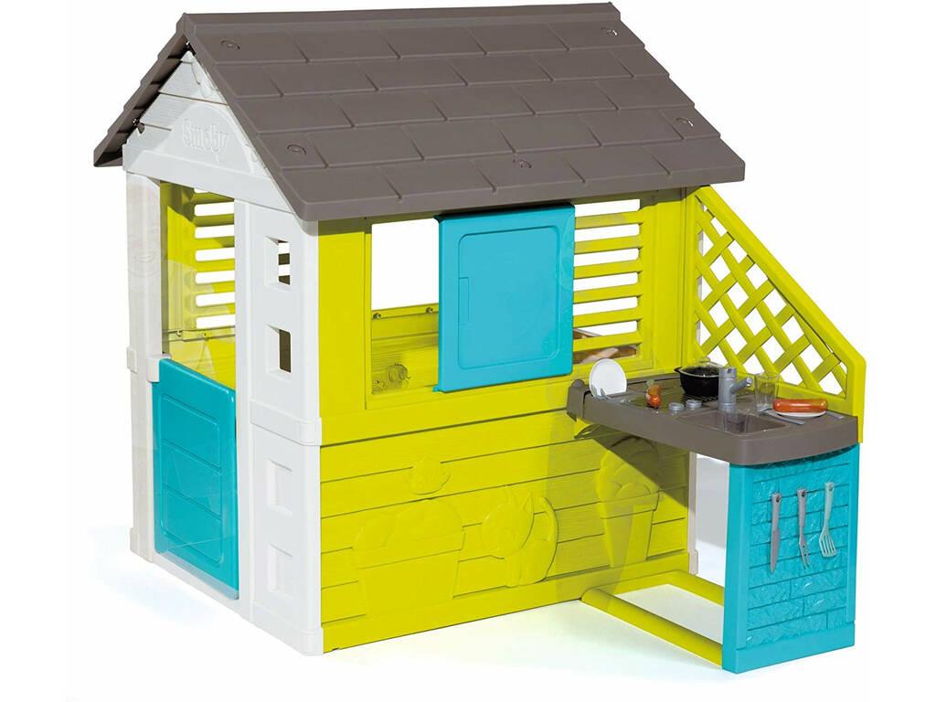 Maison Pretty II avec Cuisine et Accessoires Smoby 810711