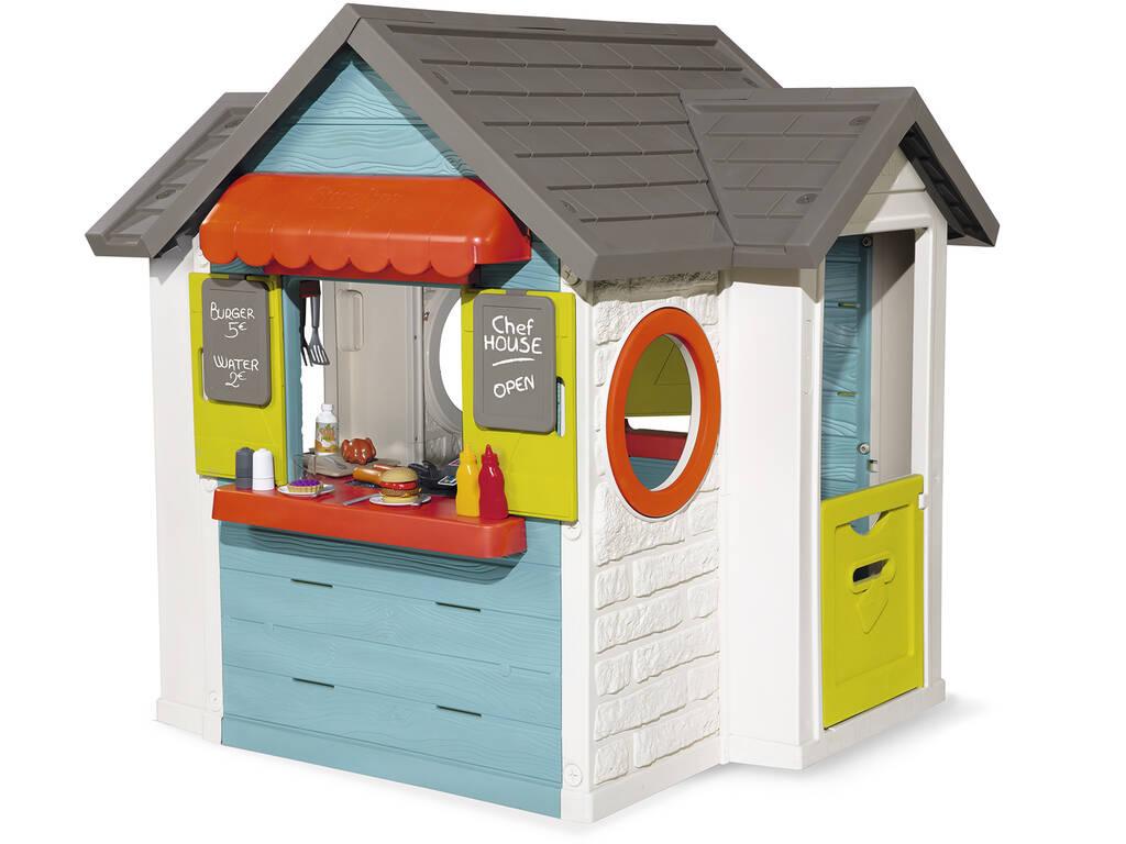 Casa Chef House con Accesorios Smoby 810403
