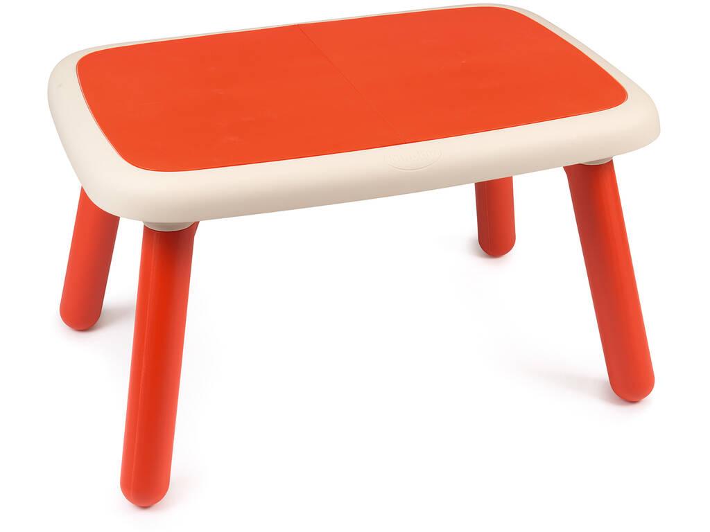 Table pour Enfants Rouge Smoby 880403