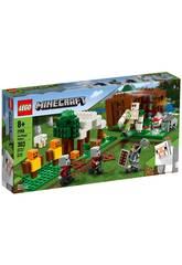 Lego Minecraft O Posto de Saqueadores 21159