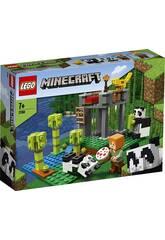 Lego Minecraft O Canil de Pandas 21158