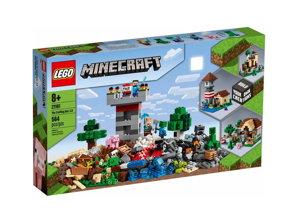Lego Minecraft Boîte Modulaire 3.0 21161