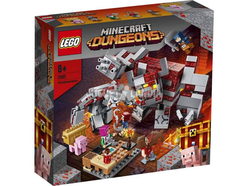 Lego Minecraft La Bataille Pour La Pierre Rouge 21163