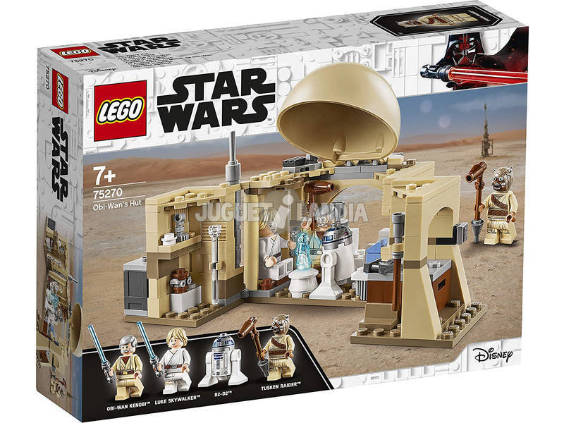 Lego Star Wars Cabaña de Obi-Wan 75270