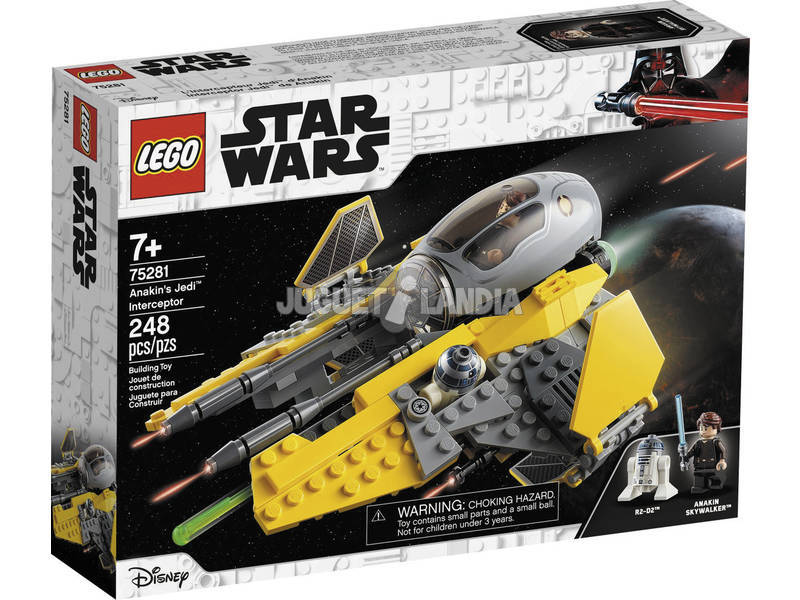 Lego Star Wars Interceptor Jedi de Anakin 75281