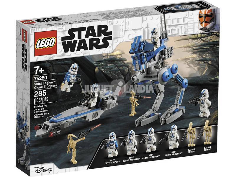 Lego Star Wars Soldados Clon de la Legión 501 75280