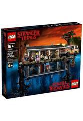 Lego Exclusivas Stranger Things O mundo ao contrário 75810