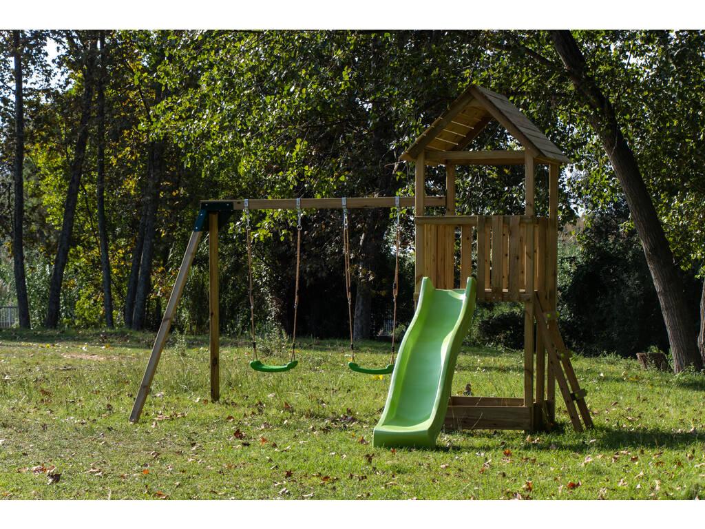 Parque Infantil Tibidabo con Columpio Doble Masgames MA700221
