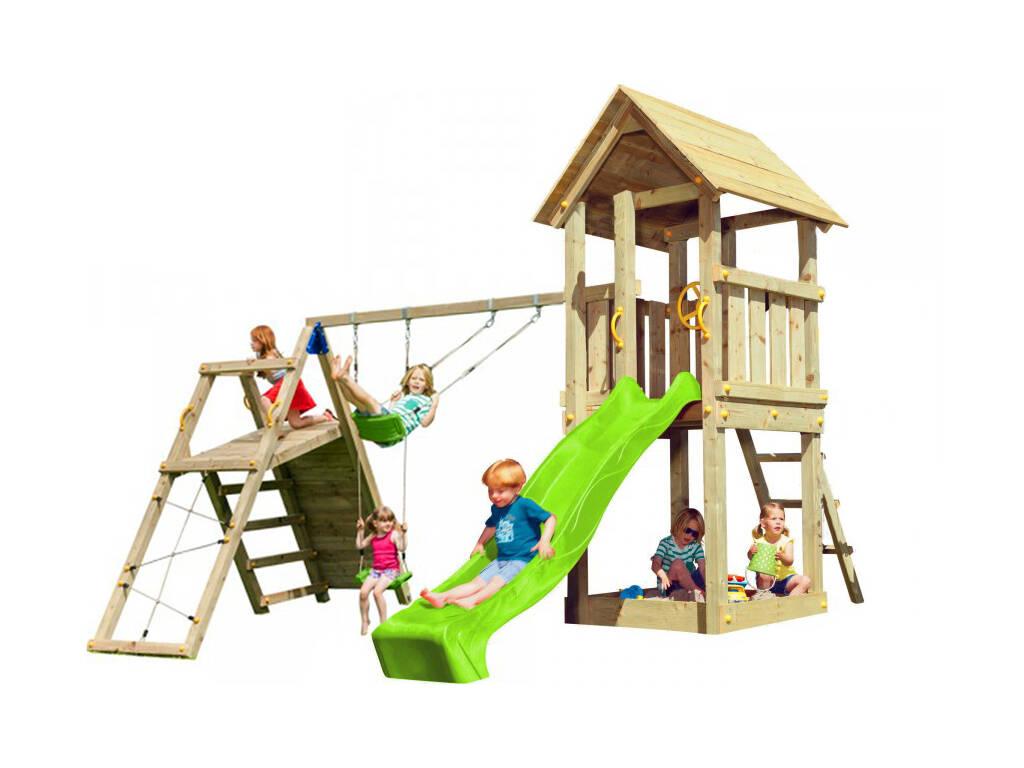 Parque Infantil Kiosk con Challenger Masgames MA812101
