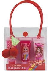 TopModel Juego de Pintalabios Gloss Cherry Bomb