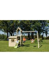 Parque Infantil Lookout M con Columpio Doble Masgames MA811801