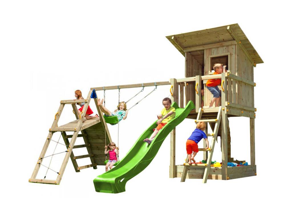 Aire de Jeux Beach Hut XL avec Challenger Masgames MA822301