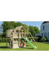 Parque Infantil Palazzo XL con Columpio Doble Masgames MA821701
