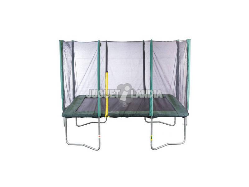 Trampoline Deluxe 305x215 cm. avec Filet et Échelle Masgames MA302241