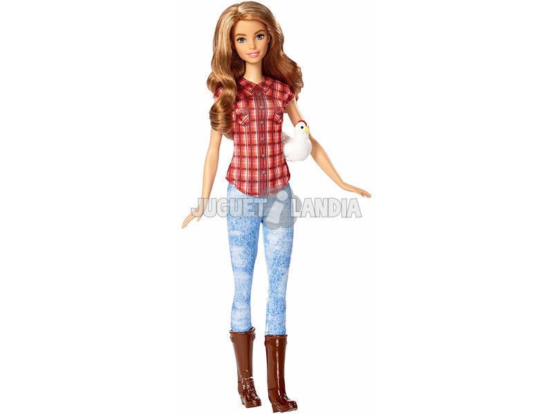 Barbie Yo Quiero Ser Granjera Mattel DVF53