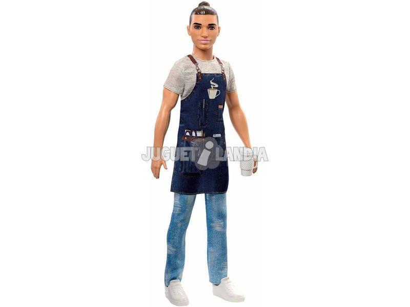 Ken Yo Quiero Ser Barista Mattel FXP03