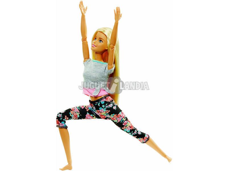 Barbie Mouvements Sans Limites Blonde Mattel FTG81