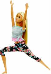 Barbie Mouvements Sans Limites Blonde Mattel FTG81