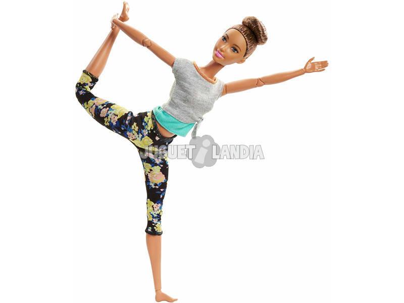 Barbie Mouvements Sans Limites Cheveux Bruns Mattel FTG82