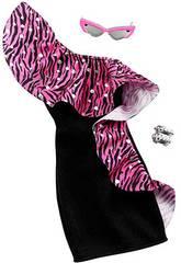 Completo Barbie Moda Look Vestito di Notte Mattel GHW78